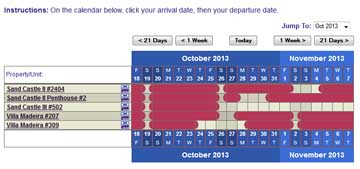Custom colors on your Public Master Calendar