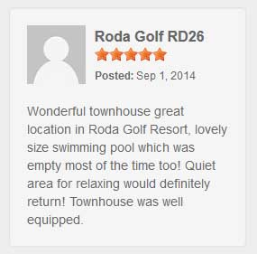Vacation Rental Guest Reviews