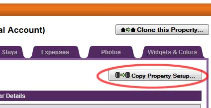 Copy Property Setup Button