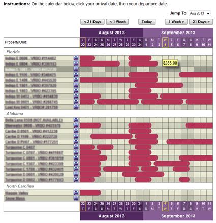 Public Master Calendar